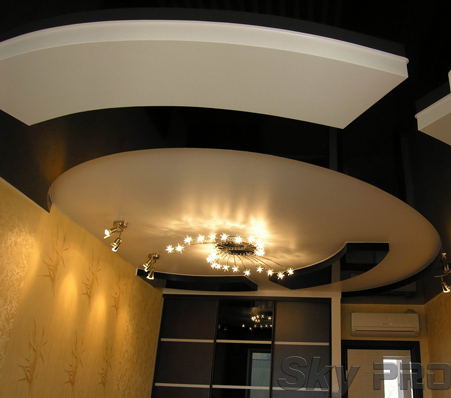 Конструкция многоуровневых потолков