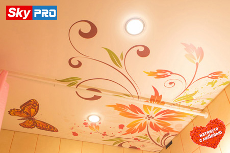 Светодиодные светильники потолочные фото в ванной
