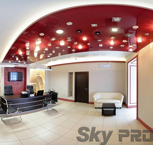 светильники в офисе SkyPRO в Сольцах